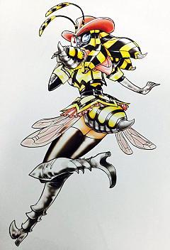 島本先生お気に入りの蜂眼魔さん