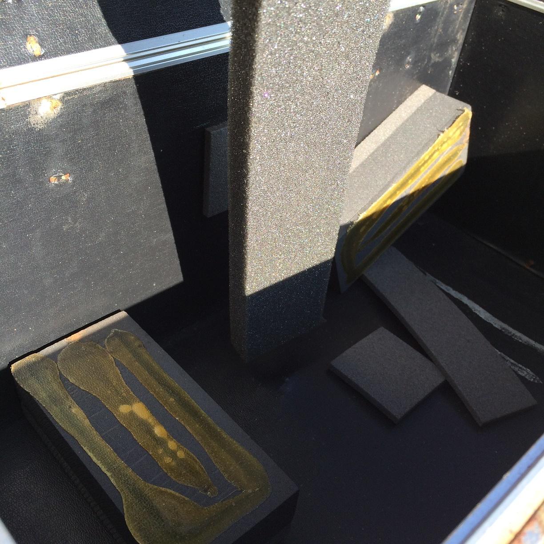 タカベ株式会社製ハードケース 屋外放置実験