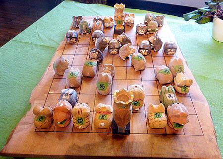 木工展 将棋盤