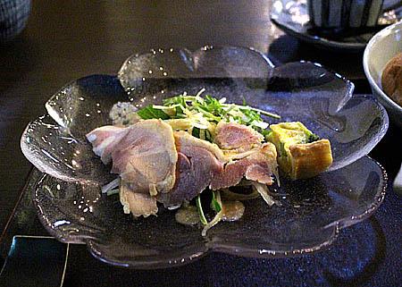 水菜&スモ-クハムサラダ