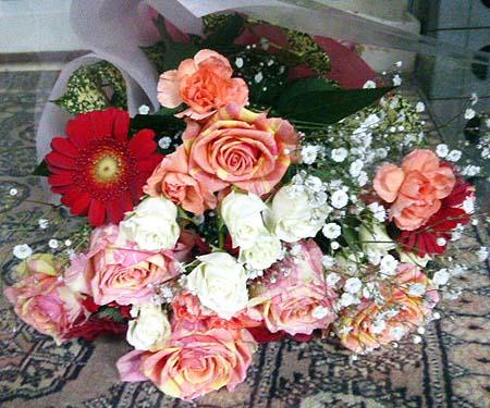 依頼の花束