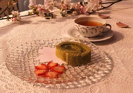 茶畑ロ-ル&さくらティ-