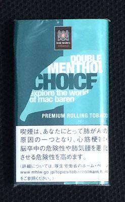 CHOICE_DOUBLE_MENTHOL チョイス・ダブルメンソール CHOICE チョイス メンソールシャグ 手巻きタバコ RYO