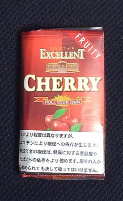 エクセレント・チェリー EXCELLENT_CHERRY エクセレント EXCELLENT フレーバーシャグ チェリーフレーバー 手巻きタバコ RYO