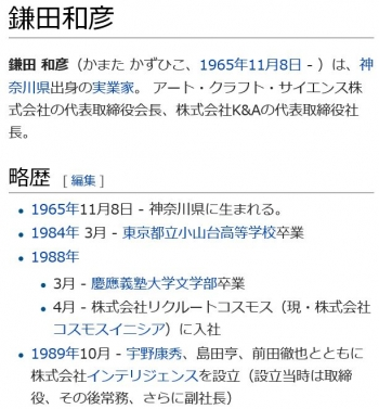 wiki鎌田和彦