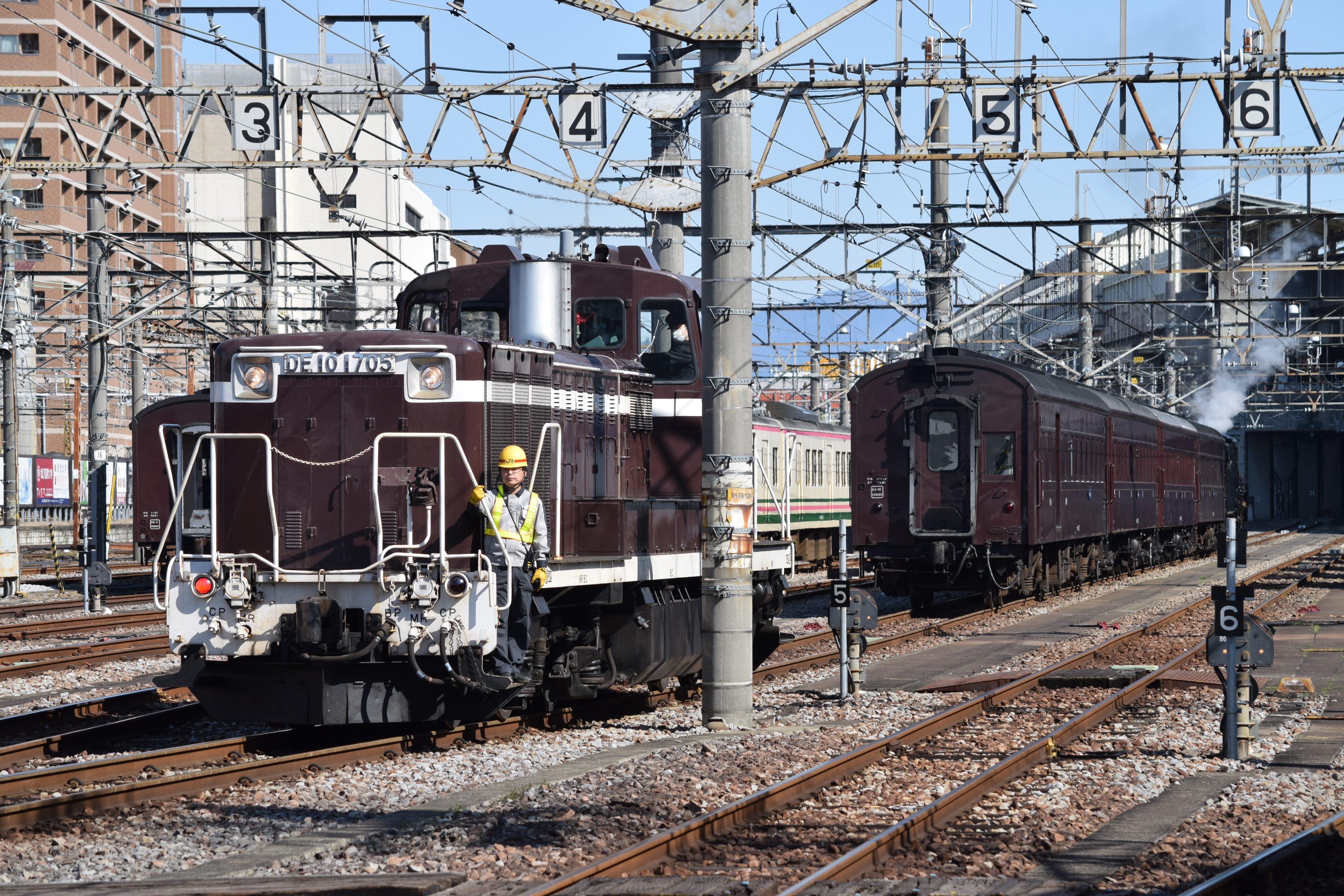 高崎駅構内入換 DE10-1571