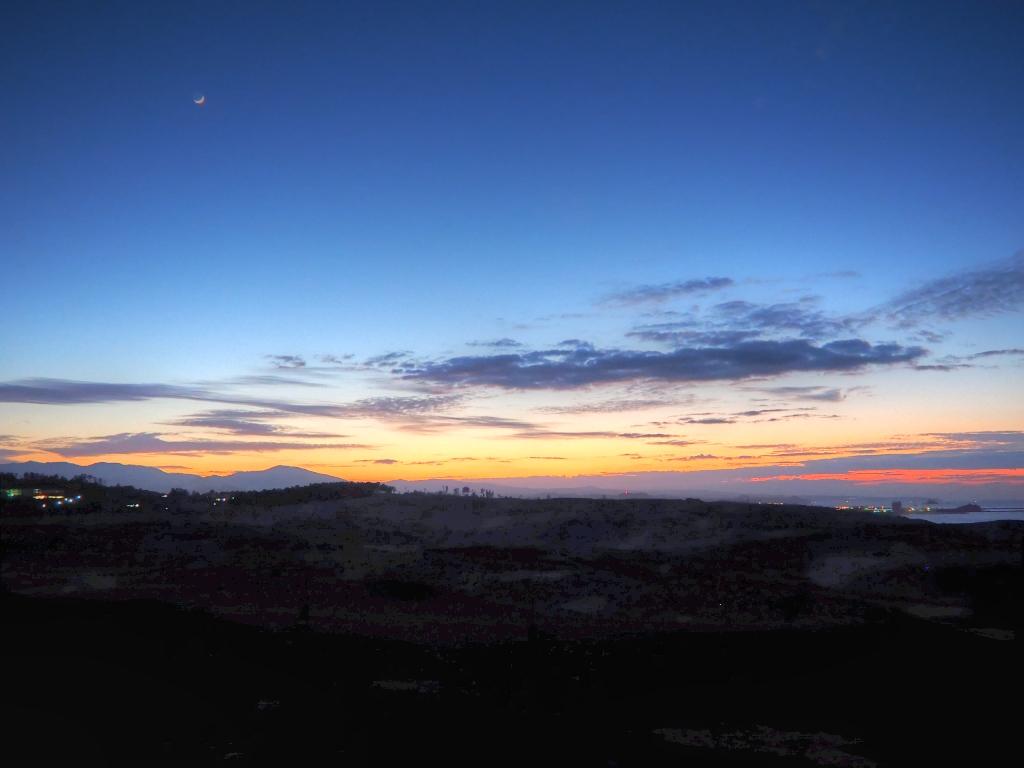 鳥取砂丘の夕景(画像マシマシ ...
