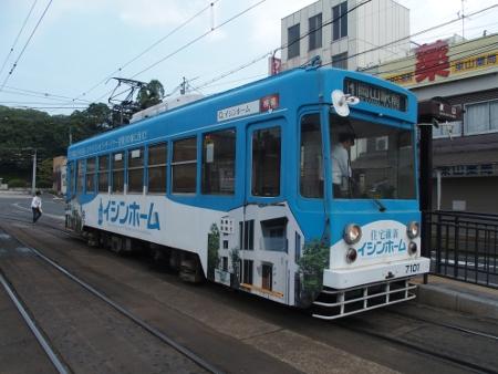 岡山電気軌道7100形7101
