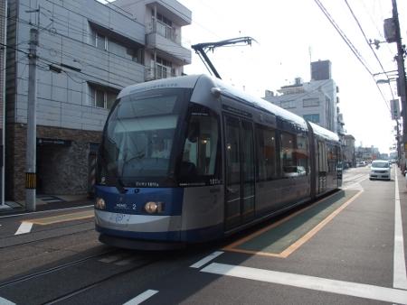 岡山電気軌道9200形1011