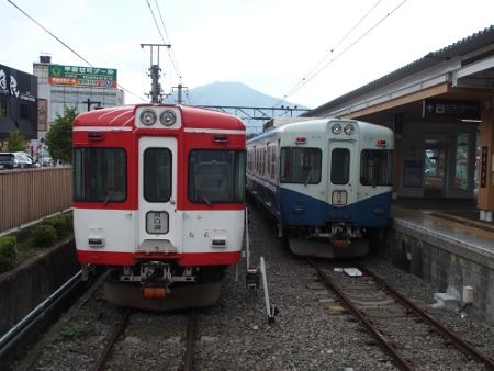 富士急行1200形マッターホルン号・リバイバルカラー