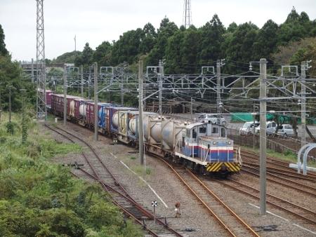 鹿島サッカースタジアム駅 入換風景1