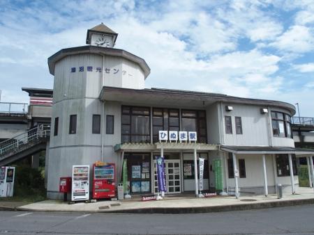 涸沼駅 駅舎