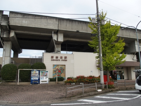 新鉾田駅 駅舎