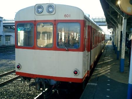 鹿島鉄道キハ600形601
