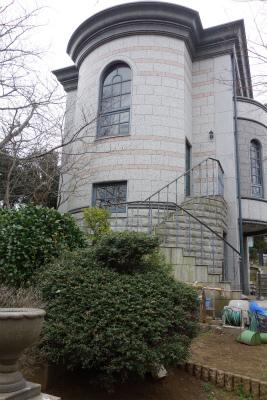 2016年3月横浜外人墓地の2