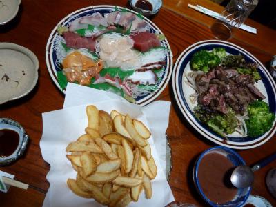 2016年3月千葉夕食