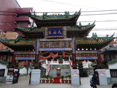 2016年3月中華街の寺院