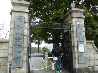 2016年3月横浜外人墓地