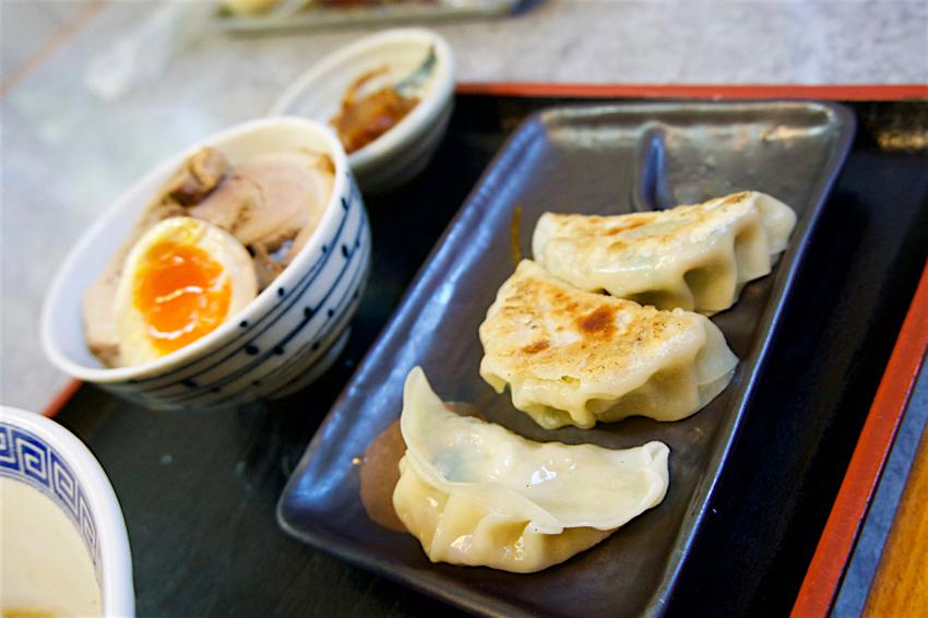 ラーメン屋 味番人@下野市下石橋 特製焼餃子セット