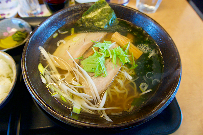 麺道 てっぺん家@益子町七井 塩らーめん1