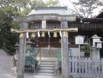 京都御苑厳島神社唐破風鳥居201637