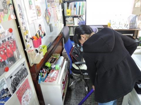 事務所の大掃除をしてたら怒られた!①