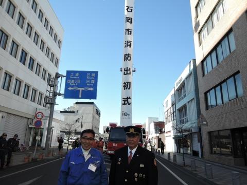 平成28年1月9日石岡市消防出初式⑬