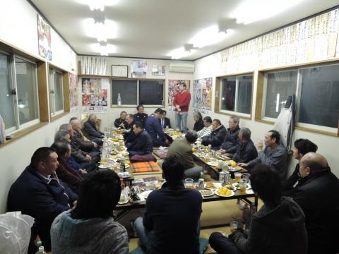 平成28年1月17日北の谷祭礼会館「新年会」④
