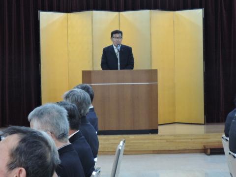 平成28年1月28日石岡市区長会新年会①