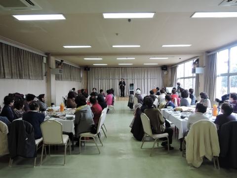 平成28年1月30日石岡市府中地区女性の会新年会②