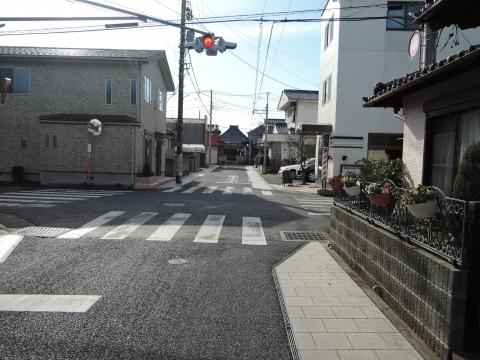 富田町北向観音前「普通型信号機」に変更要望①