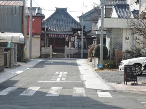 富田町北向観音前「普通型信号機」に変更要望②