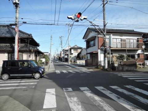 富田町北向観音前「普通型信号機」に変更要望④