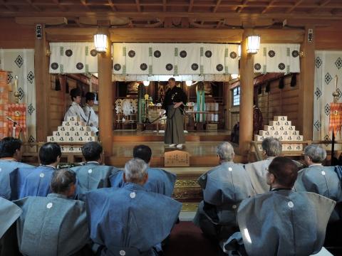 平成27年2月3日常陸國總社宮「節分祭」⑥