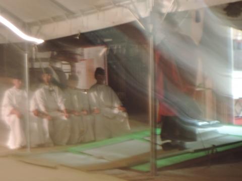 平成28年2月14日常陸國總社宮「外遷宮(仮殿遷座祭)」②