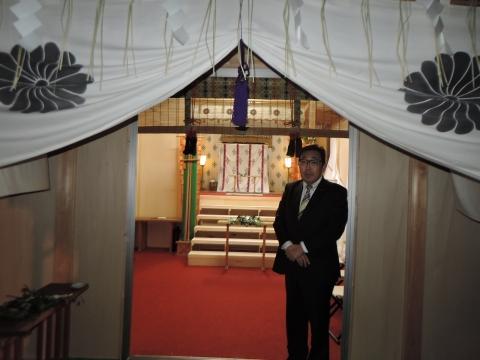 平成28年2月14日常陸國總社宮「外遷宮(仮殿遷座祭)」④