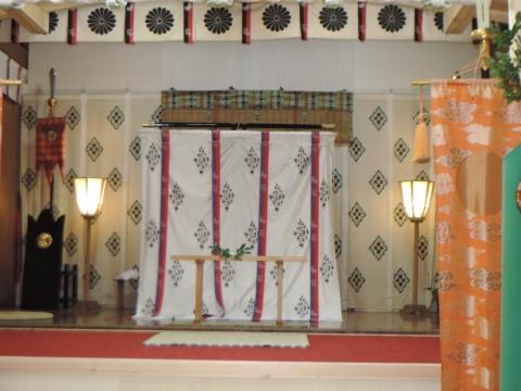 平成28年2月14日常陸國總社宮「外遷宮(仮殿遷座祭)」⑥