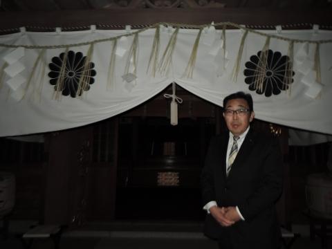 平成28年2月14日常陸國總社宮「外遷宮(仮殿遷座祭)」⑨
