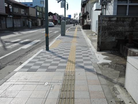 森木町商店会歩道改修①