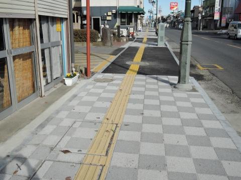 森木町商店会歩道改修⑤