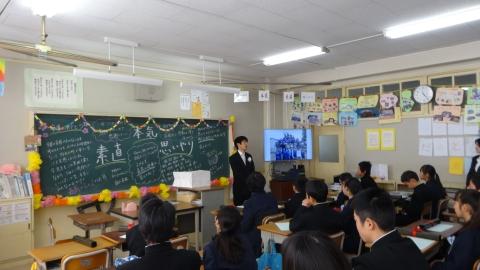 平成28年3月17日府中小学校「娘の卒業式」②