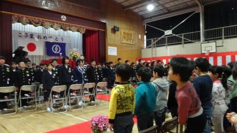 平成28年3月17日府中小学校「娘の卒業式」④