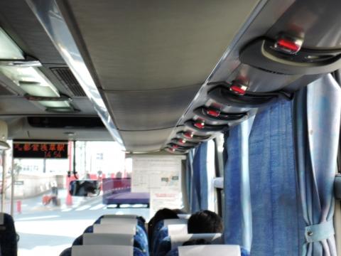 久々にバスに乗って止まりますボタンを押せた! (3)