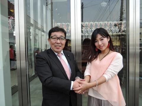 石岡駅東西自由通路及び橋上駅完成式典⑨