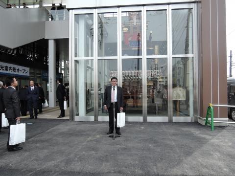 石岡駅東西自由通路及び橋上駅完成式典⑭