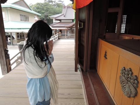 娘の十三詣り「村松山虚空蔵堂」①