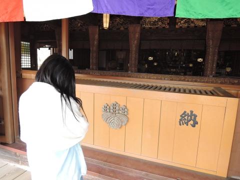 娘の十三詣り「村松山虚空蔵堂」②