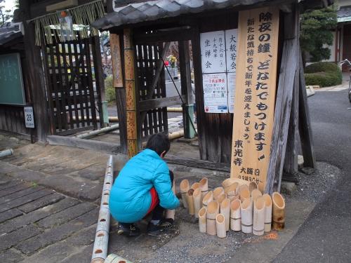 5000竹ロウソクと除夜の鐘H27002