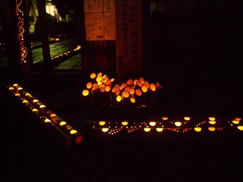 5000竹ロウソクと除夜の鐘H27006