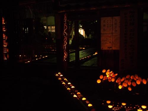 5000竹ロウソクと除夜の鐘H27007
